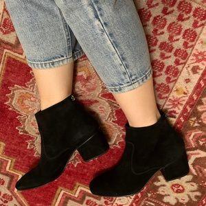 Rachel Comey Black Suede Luna Boots